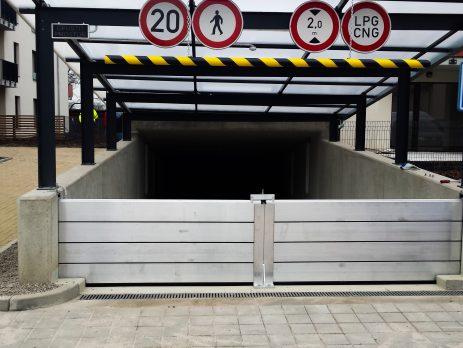Ochrana vzejdu do podzemních garáží