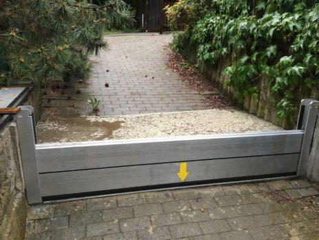 Ochrana vjezdu do garáže